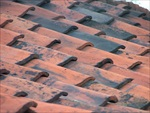 Roof tile covering Bulmer Brickworks by Dayle Bayliss