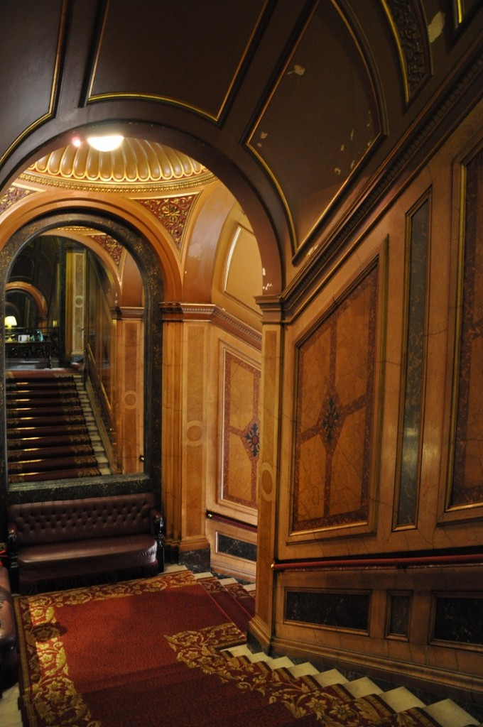 Image of Stairwell, Reform Club, Pall Mall, London by Dayle Bayliss